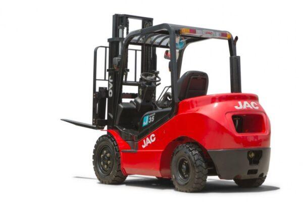 Аккумуляторы - АКБ для дизельного погрузчика JAC CPCD 35, 3,5 тонн - Фото 1