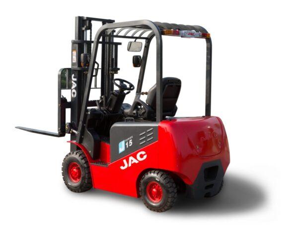 Аккумуляторы - Тяговый аккумулятор для дизельного погрузчика JAC CPCD 15, 1,5 тонн - Фото 1