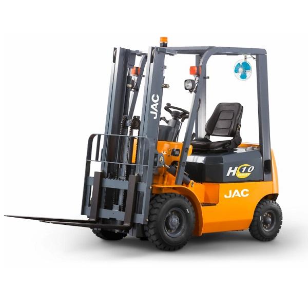 Бензиновые (газовые) вилочные погрузчики JAC - Бензиновый (газовый) вилочный погрузчик JAC CPQD 10, 1 тонна - Фото 1