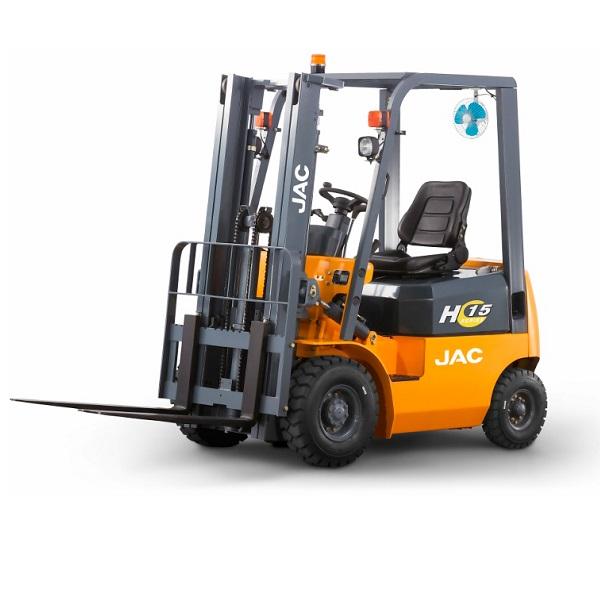 Дизельные вилочные погрузчики JAC - Дизельный вилочный погрузчик JAC CPCD 15, 1,5 тонн - Фото 1