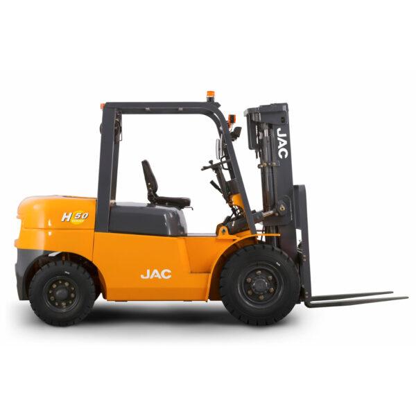 Аккумуляторы - АКБ для дизельного погрузчика JAC CPCD 50mini, 5 тонн - Фото 1